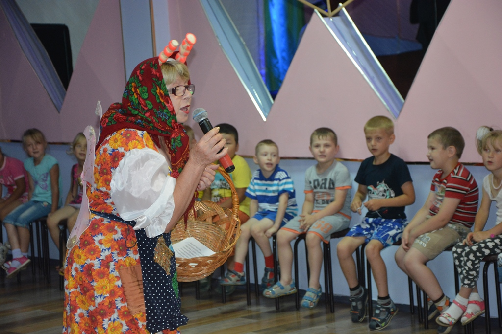 """Детское мероприятие """"Лунтик и его друзья"""""""